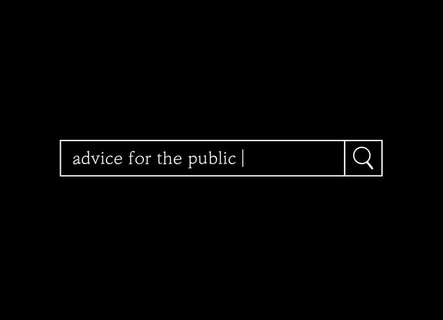 The Best advice I ever got…