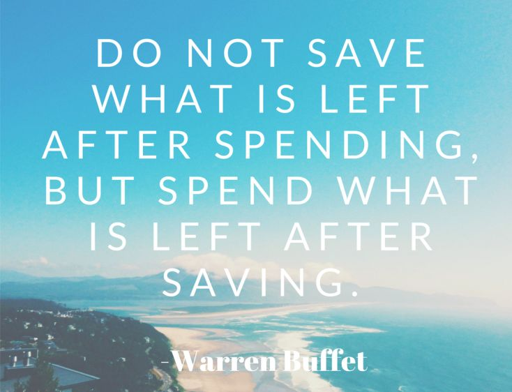 Save First Spend Later