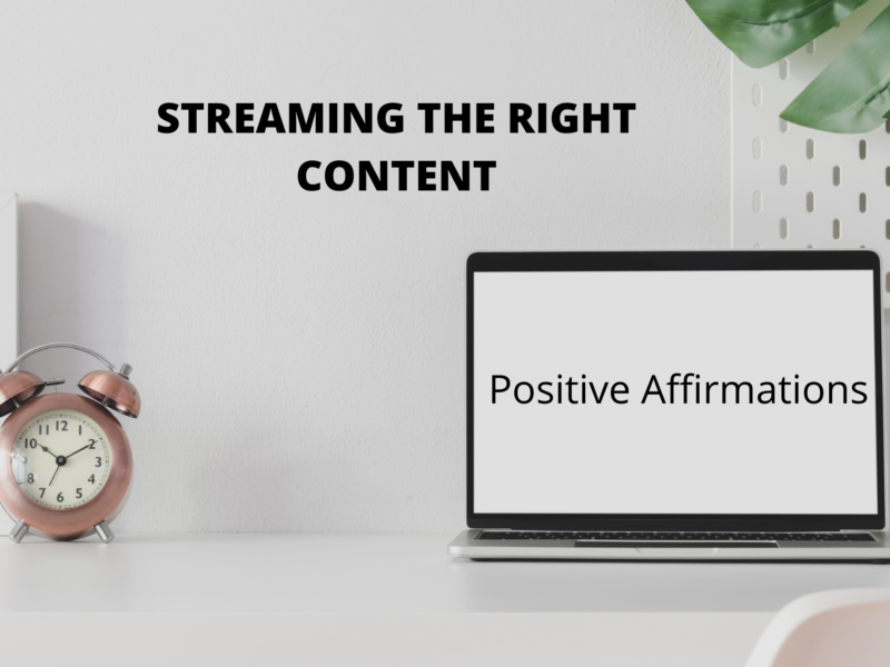 Streaming the right content